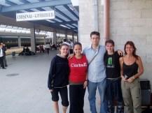 Chisinau - saying bye again to new friends