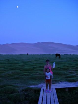 Gobi Desert, Mongolia. Backpacks and Bra Straps ch 2