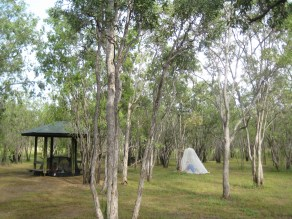 Camping in Kakadu National Park