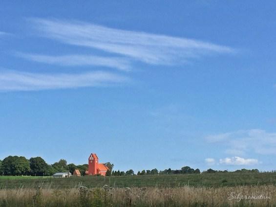 The flatlands of southern Denmark