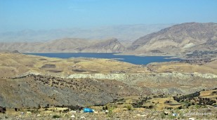 On the highway between Erbil and Sulaymaniyah. Dukan Lake