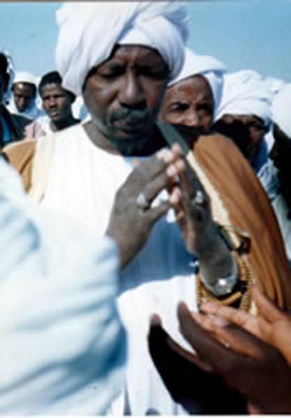 sultan al-hajj abu bakr making supplication for the umma