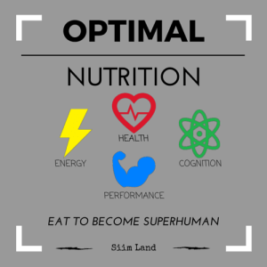 Optimal Nutrition Program Cover