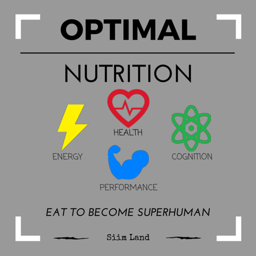 Optimal Nutrition Program Cover