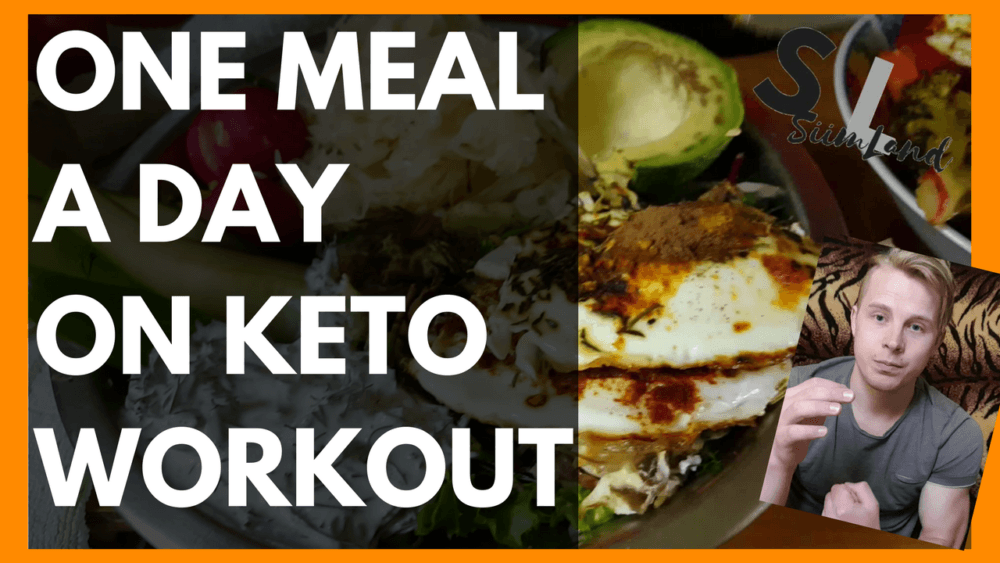 My One Meal a Day Keto Full Day of Eating (OMAD KETO Diet / One Meal a Day Bodybuilding) - Siim Land