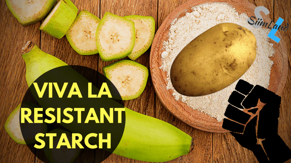 Research of products on the content of starch. Foods high in starch