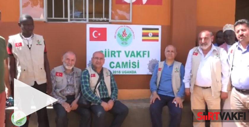 Uganda'da Siirt Vakfı Camisi Açılışı 2015