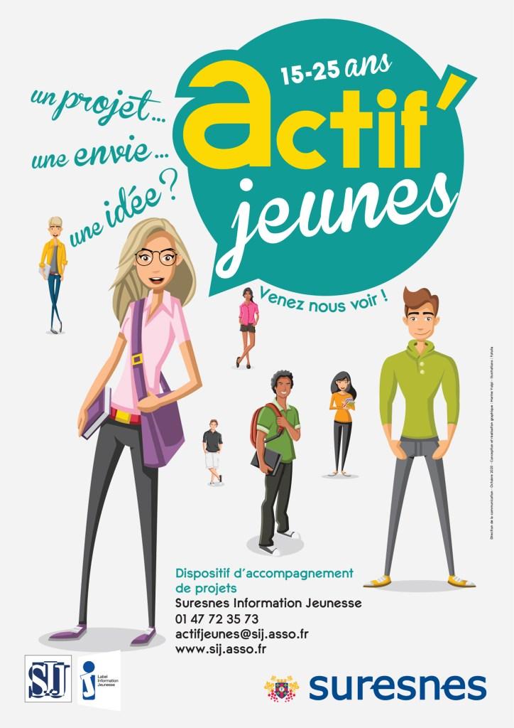 Affiche Actif'jeunes