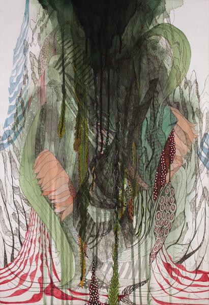 koreanartist_sijaebyun_contemporary_art_artwork_fineart_painting_silk_on_canvas_mixedmedia_ink_acrylic4