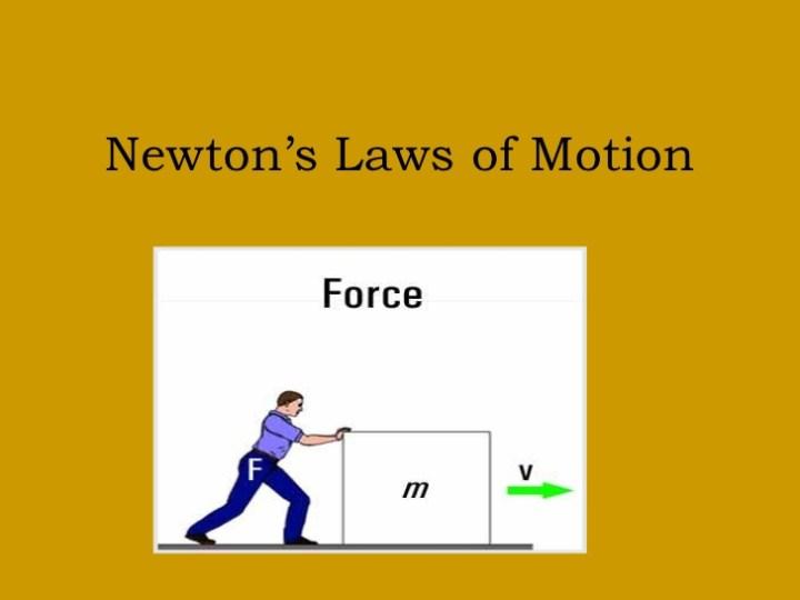 Penerapan Hukum Newton