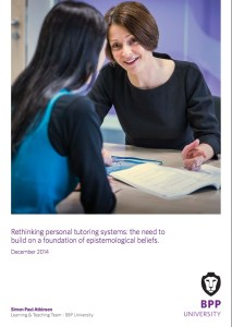 Image of the cover of Rethinking Personal Tutoring Systems