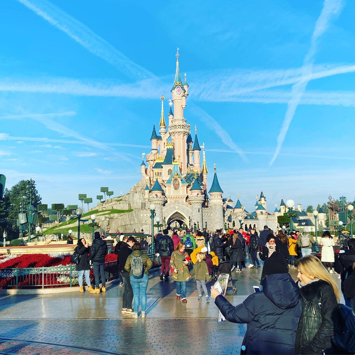 Obligatory Disney Castle Pic
