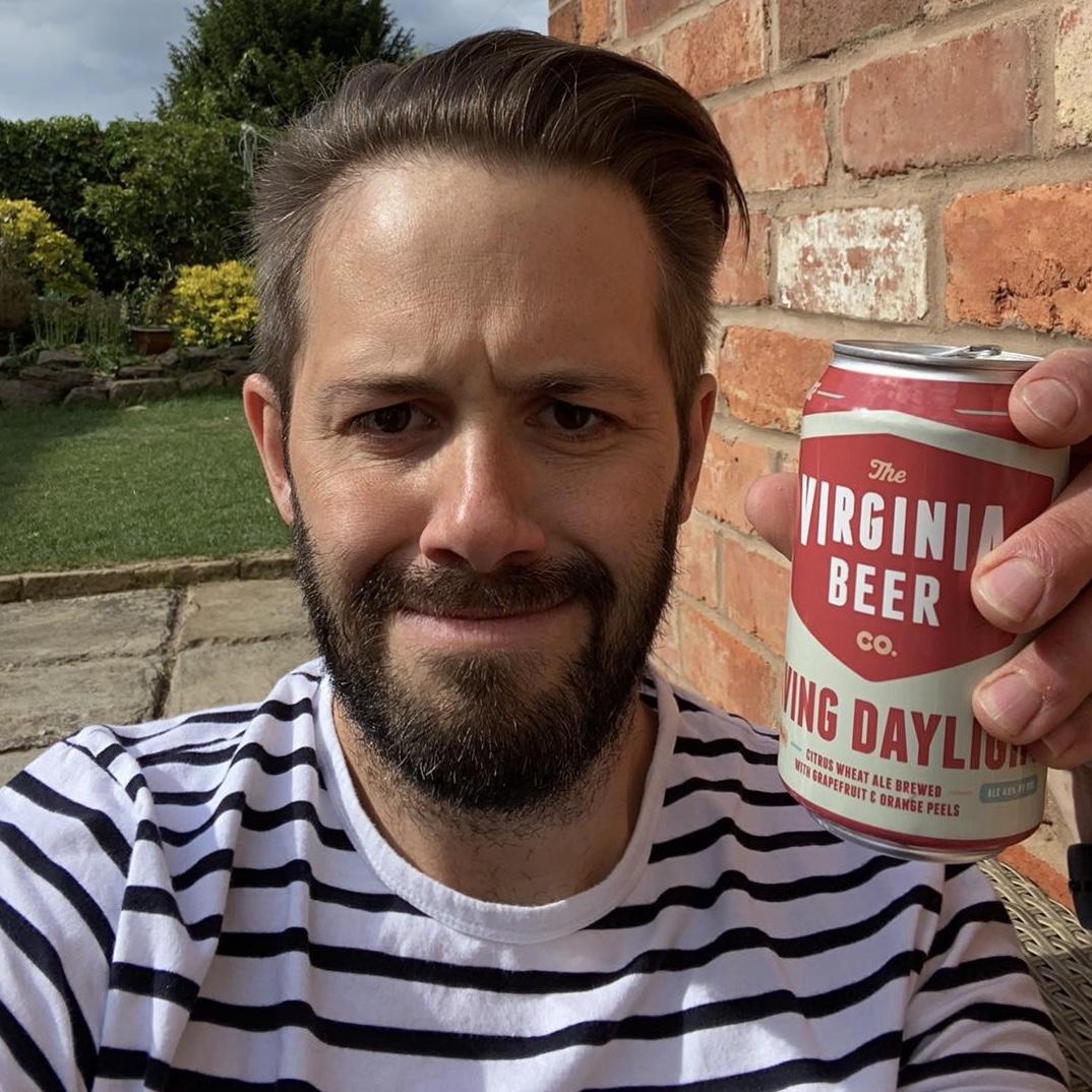 Beer52 tasting in the garden