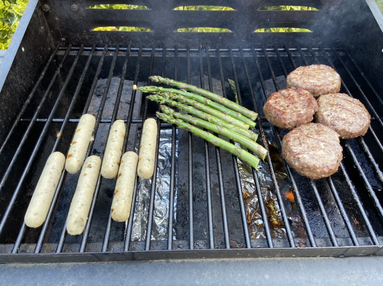 BBQ - veggie to meat
