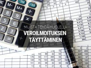 vuokranantajan verotus - vinkkejä veroilmoituksen täyttämiseen