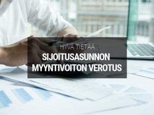 Sijoitusasunnon myyntivoiton verotus