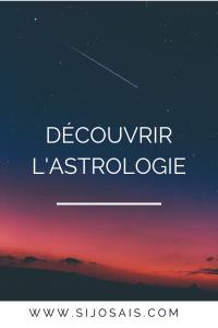 Découvrir l'astrologie