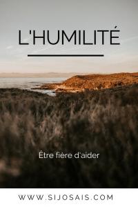 L'humilité - Rester humble