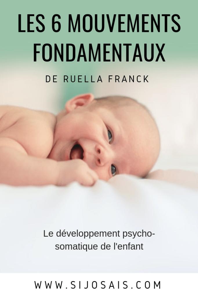 Les mouvements fondamentaux du bébé - Ruella Franck