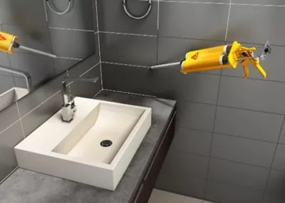 epoxy tile grout in a cartridge