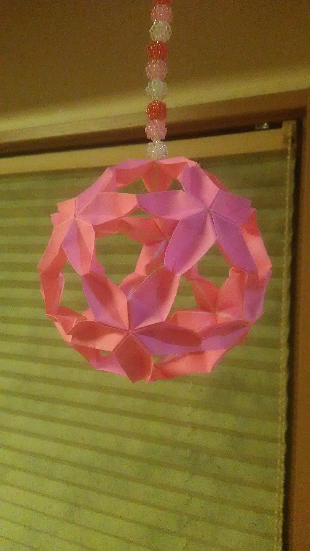 桜の折り紙