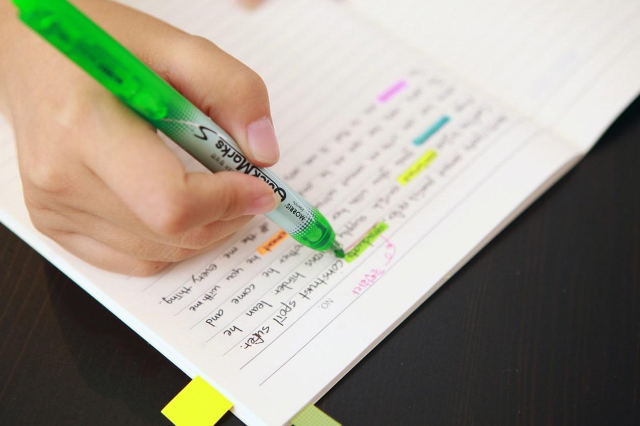 ノート作り