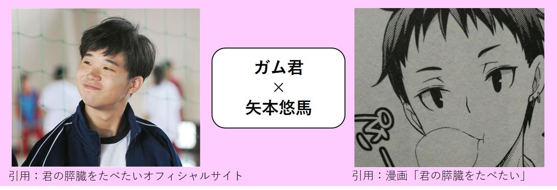 ガム君×矢本悠馬
