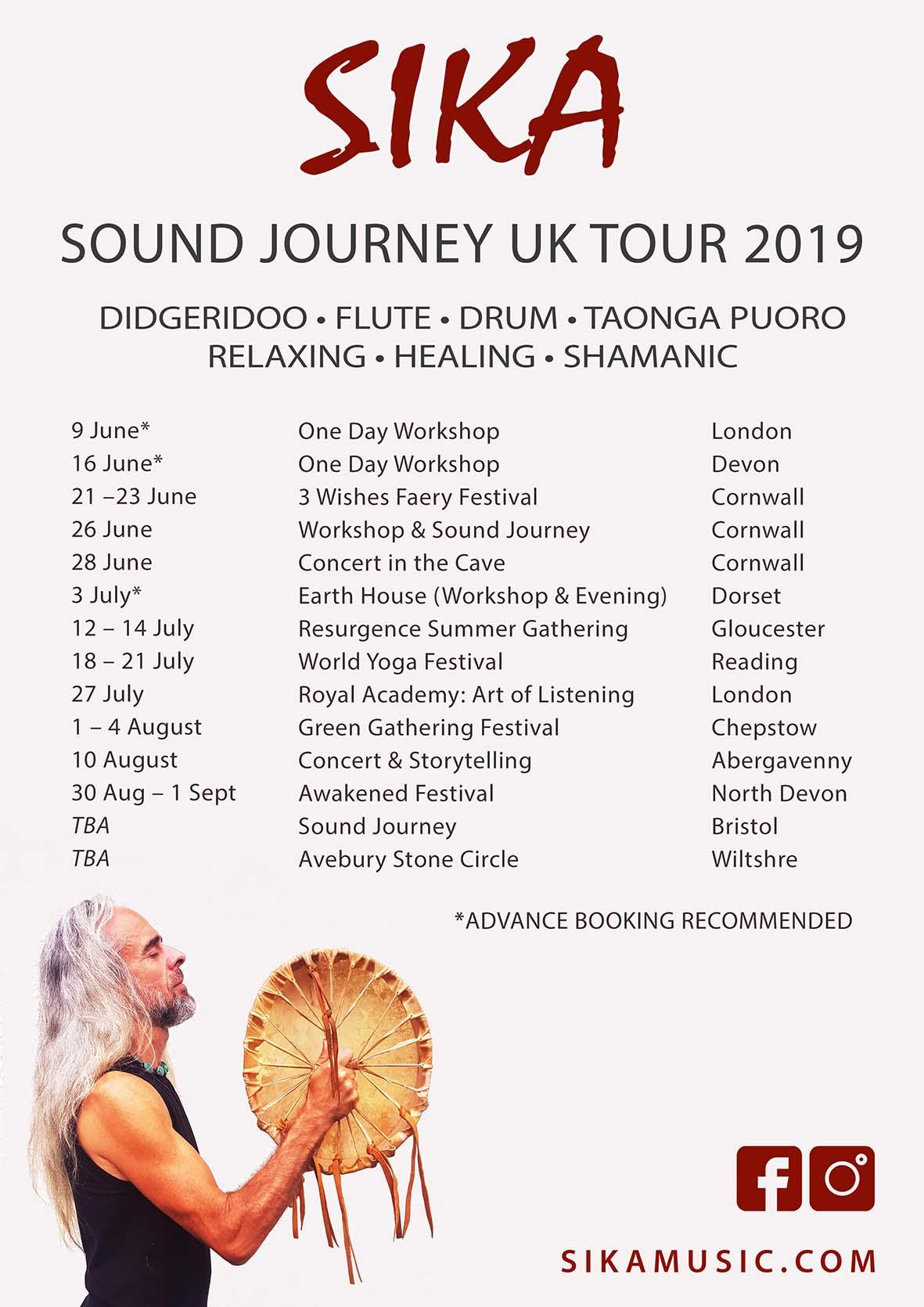 UK Sound Journey Dates