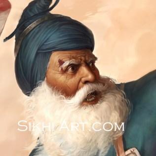 Baba Deep Singh, Harimandir Sahib, Golden Temple