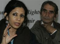 Angna Chatterji, one of the conveners of the International People's Tribunal on Human Rights and Justice.