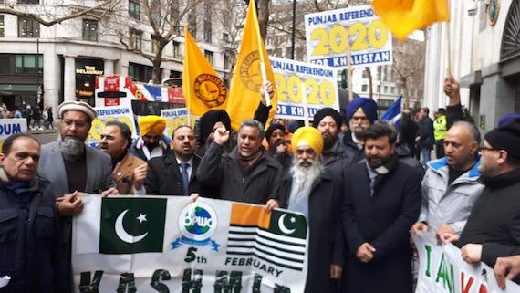 Sikh-and-Kashmiri-diaspora-sections-in-England-protested-outside-the-Indian-High-Commission-in-London-on-Saturday-26-January-2019.-The-protest-coincided-Indias-Republic-Day.jpg (570×321)