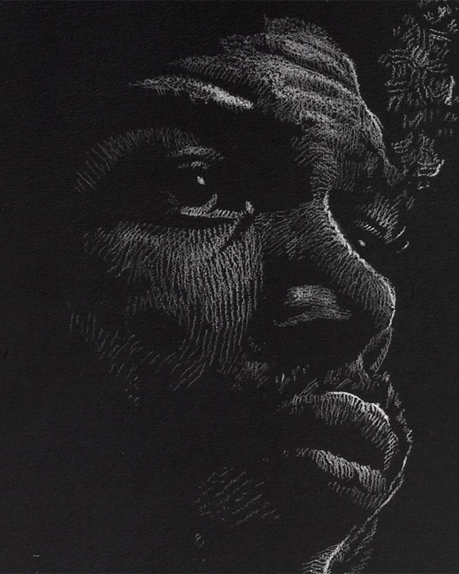 Gil-Scott Heron - Original Drawing