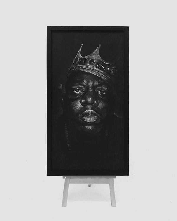 Biggie SMALL - Original Drawing