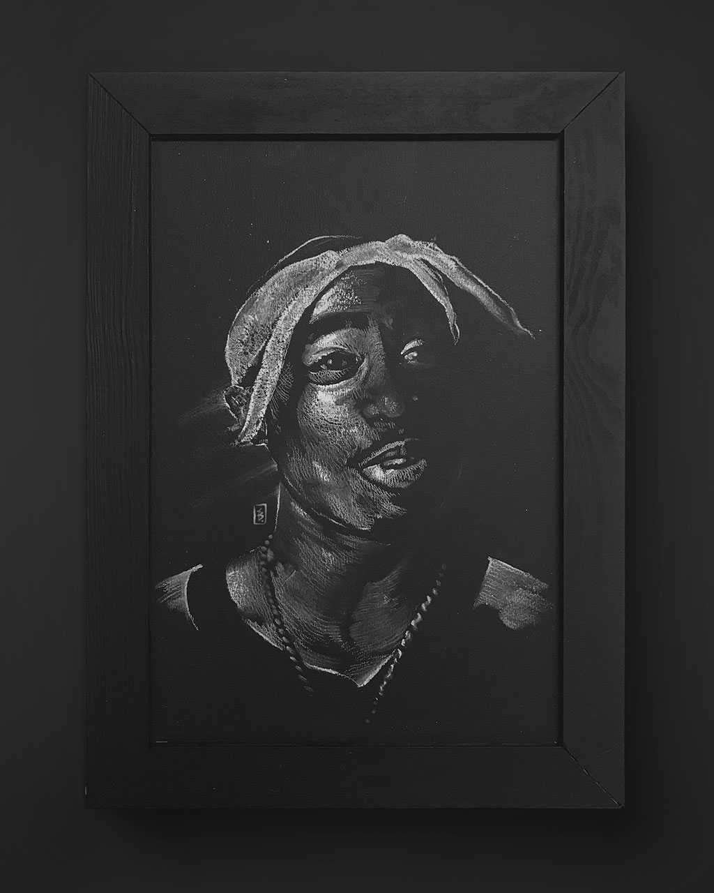 Tupac - Original Drawing