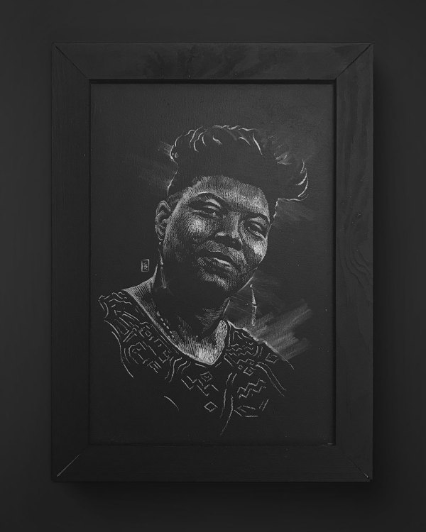 Queen Latifah - Original Drawing