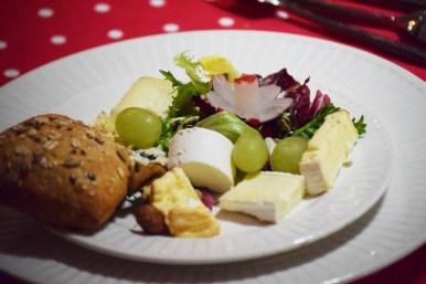 Assiette de fromages