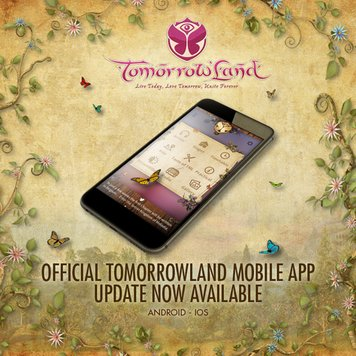 Download do aplicativo oficial da Tomorrowland