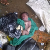 Oh My God:Dead baby found near a refuse dump in Gowon Estate
