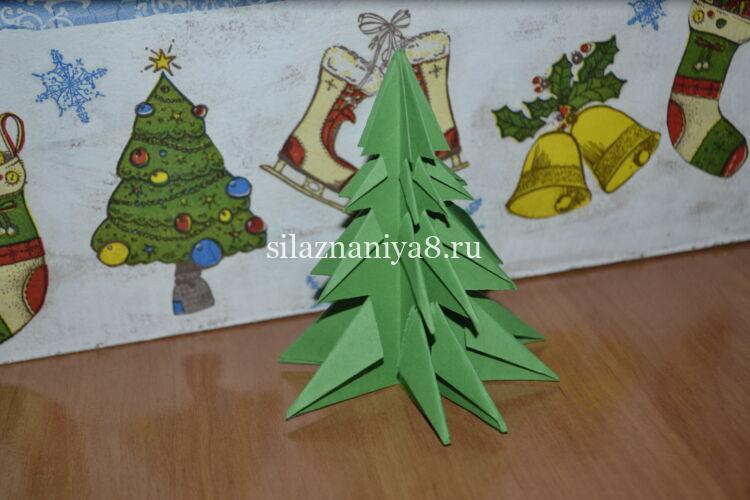 Рождество шыршасы Оригами