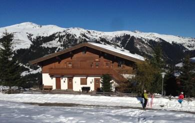 Mit den Ski bis vor die Haustür