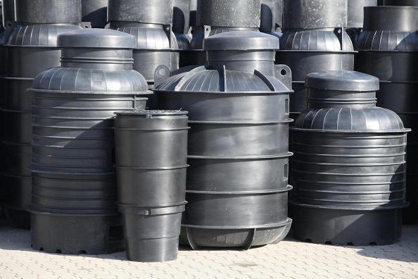 kanalizācijas tvertnes (polietilēns)