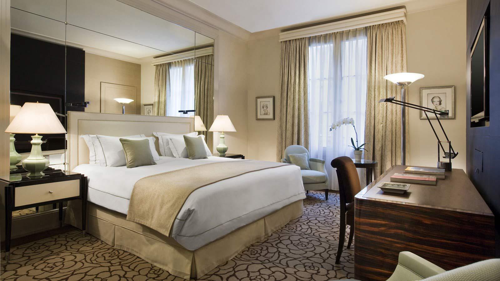 chambre-art-deco-hotel-prince-de-galles-paris-silencio - Silencio