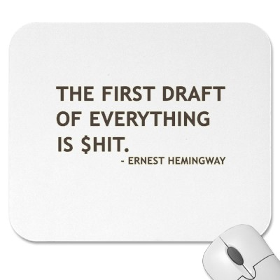 Ernest Hemingway on Writing the First Draft