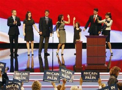 Palin Family at RNC