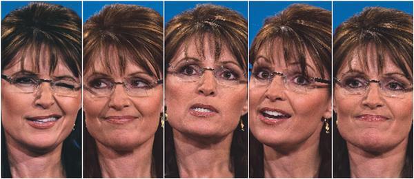 The Six-Pack Faces of Sarah Palin (Newsweek)