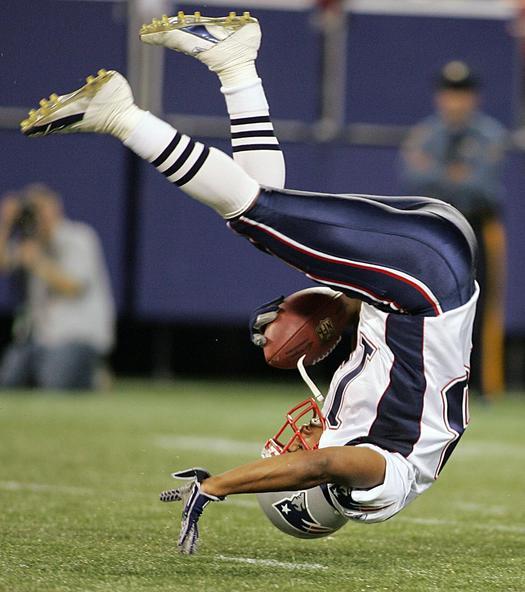 Patriots flying high