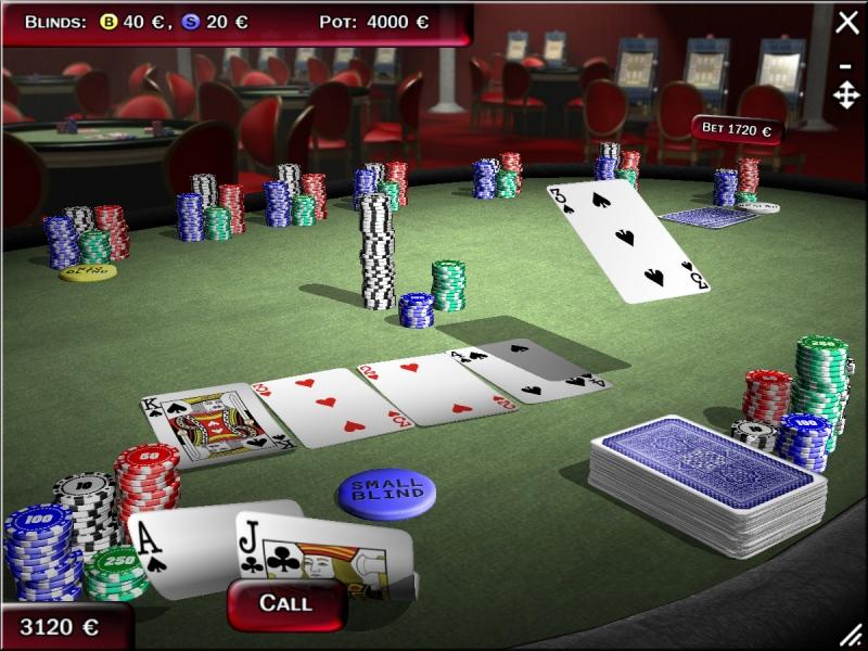 Screenshot of Texas Hold'em Poker 3D