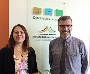 RIT/NTID Earns NSF Grant for Deaf Students Interested in Sign-Language Research