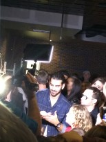 Nyle DiMarco signs autographs