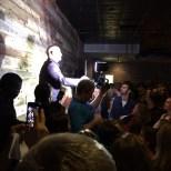 Steve Longo addresses the crowd.